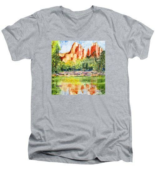 Southwest Reflections Men's V-Neck T-Shirt