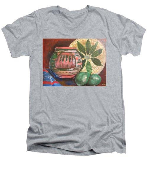 Southwest Still Life Men's V-Neck T-Shirt