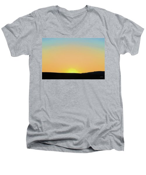Southwestern Sunset Men's V-Neck T-Shirt