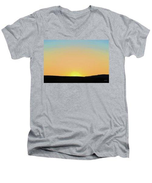 Southwestern Sunset Men's V-Neck T-Shirt