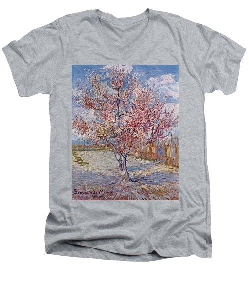 Souvenir De Mauve Men's V-Neck T-Shirt