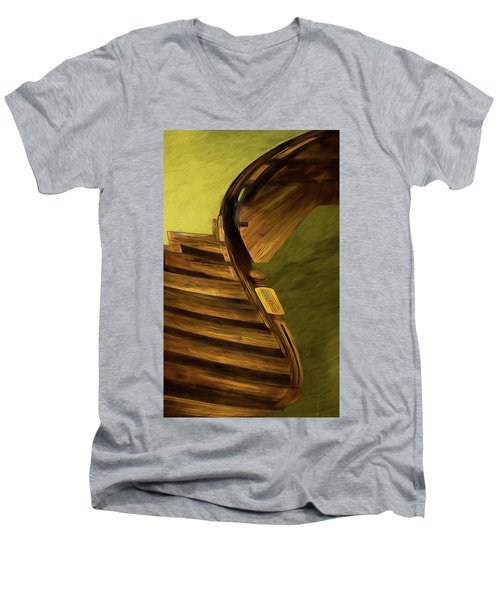 Space Geometry #12 Men's V-Neck T-Shirt