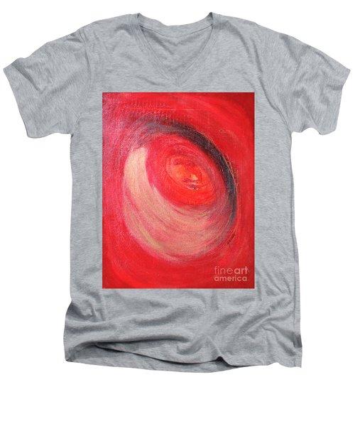 Space Men's V-Neck T-Shirt