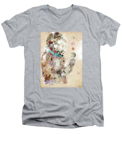 Spaceman Men's V-Neck T-Shirt