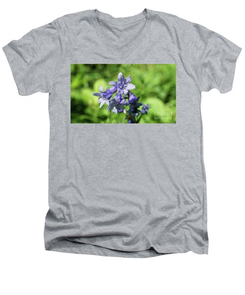 Spanish Bluebell Men's V-Neck T-Shirt