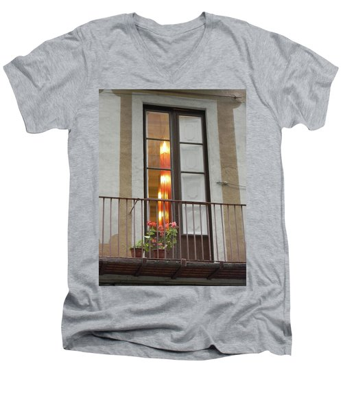 Spanish Siesta Men's V-Neck T-Shirt