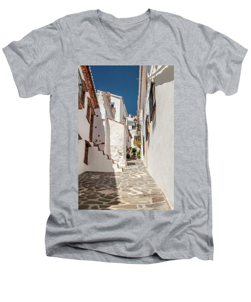 Spanish Street 1 Men's V-Neck T-Shirt