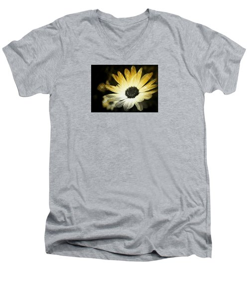 Sparkle Daisies Men's V-Neck T-Shirt
