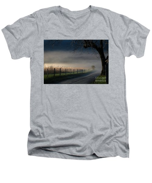 Sparks Lane Sunrise Lr3 Edition Men's V-Neck T-Shirt