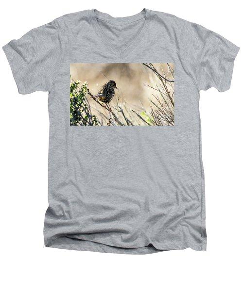 Snarky Sparrow Men's V-Neck T-Shirt