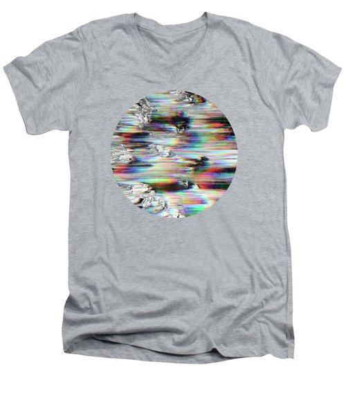 Spectral Wind Erosion  Men's V-Neck T-Shirt