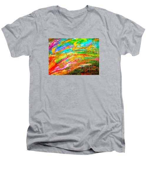 Spectrum Men's V-Neck T-Shirt