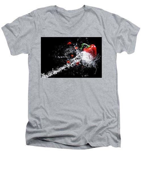 Speed Men's V-Neck T-Shirt