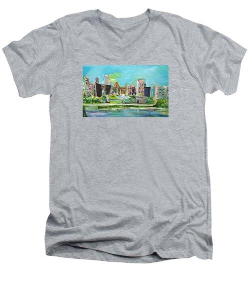 Spellbound Bv Ashford Castle Men's V-Neck T-Shirt