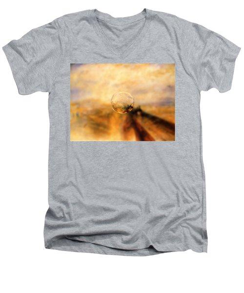 Sphere 8 Turner Men's V-Neck T-Shirt