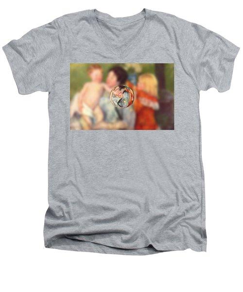 Sphere II Cassatt Men's V-Neck T-Shirt