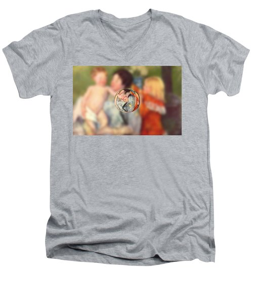 Sphere II Cassatt Men's V-Neck T-Shirt