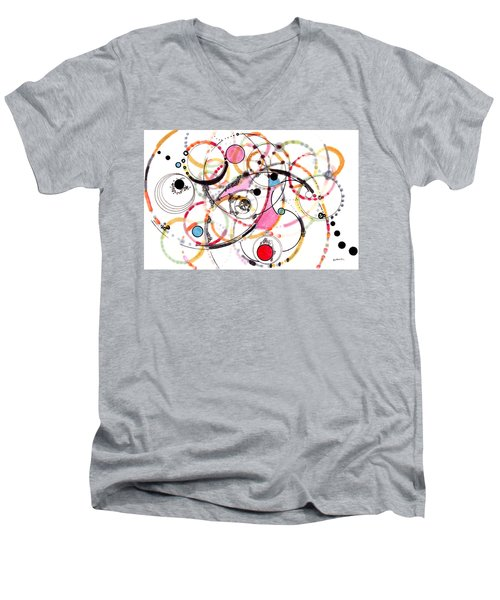 Spheres Of Influence Men's V-Neck T-Shirt
