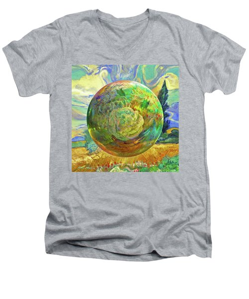 Sphering Of Succulents  Men's V-Neck T-Shirt