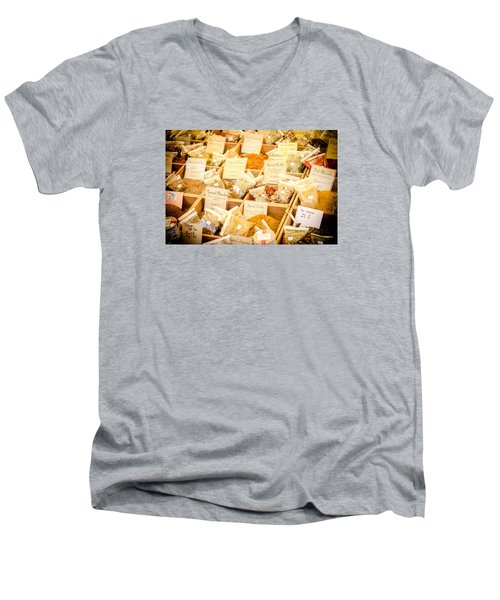 Men's V-Neck T-Shirt featuring the photograph Spice Of Life by Jason Smith