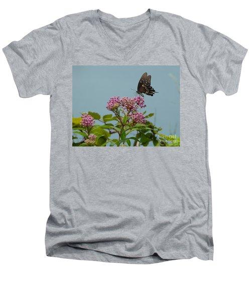 Spicebush Butterfly Men's V-Neck T-Shirt