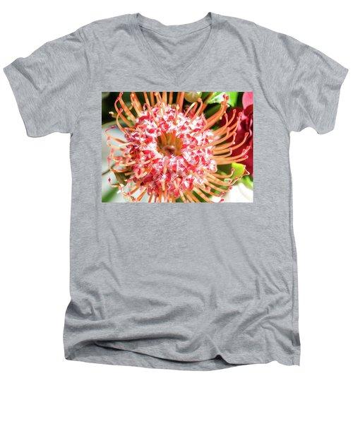 Spider Flower Men's V-Neck T-Shirt