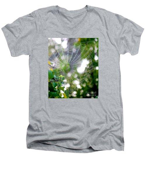 Spider Web 2 Men's V-Neck T-Shirt