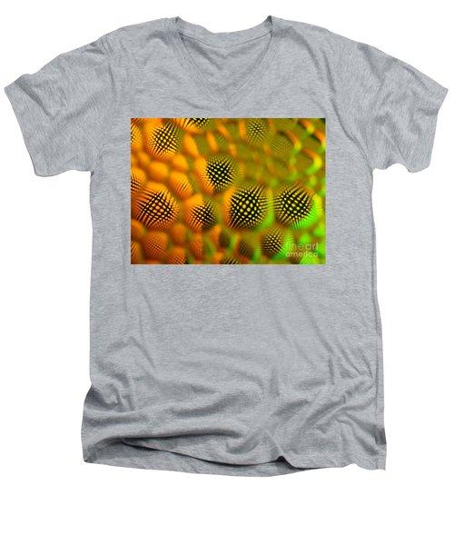Spikey Men's V-Neck T-Shirt