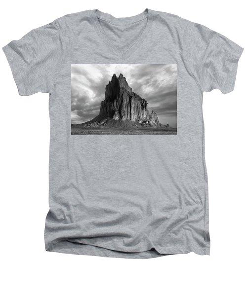 Spire To Elysium Men's V-Neck T-Shirt by Jon Glaser