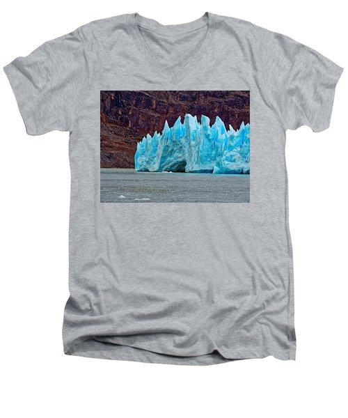 Spires Of Blue Men's V-Neck T-Shirt