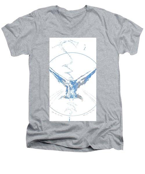 Spirit Animal . Crow Men's V-Neck T-Shirt