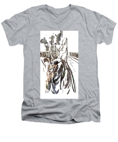 Spirit Animal . Owl Men's V-Neck T-Shirt