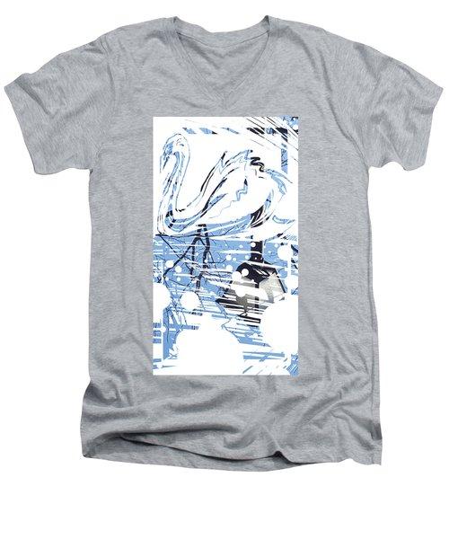 Spirit Animal . Swan Men's V-Neck T-Shirt