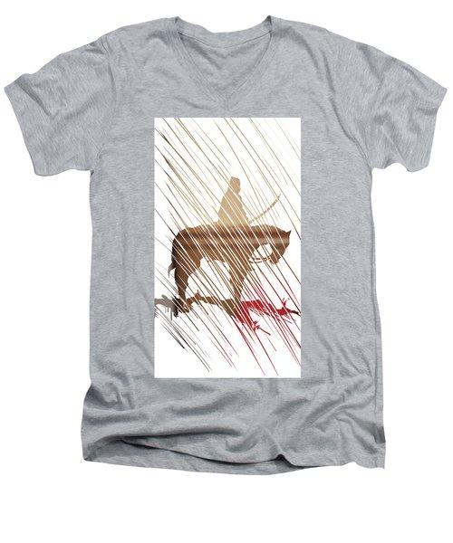 Spirit Animal . War Horse  Men's V-Neck T-Shirt