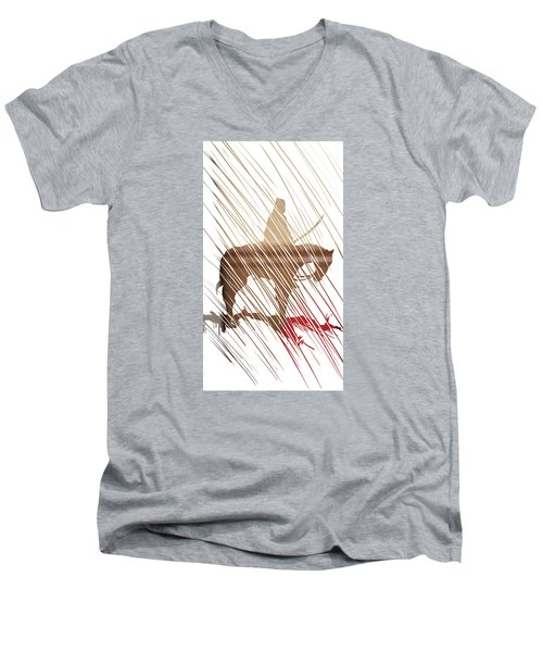 Spirit Animal . War Horse  Men's V-Neck T-Shirt