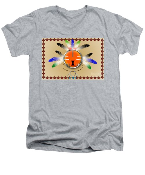 Spirit Face Men's V-Neck T-Shirt