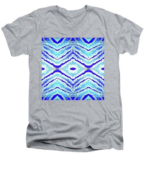 Spirit Journey To The Other Side  Men's V-Neck T-Shirt by Rachel Hannah