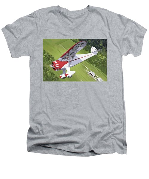 Spirit Of Dynamite Men's V-Neck T-Shirt