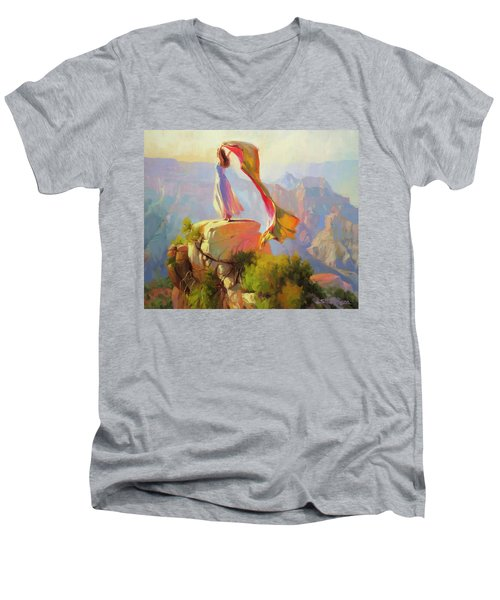 Spirit Of The Canyon Men's V-Neck T-Shirt