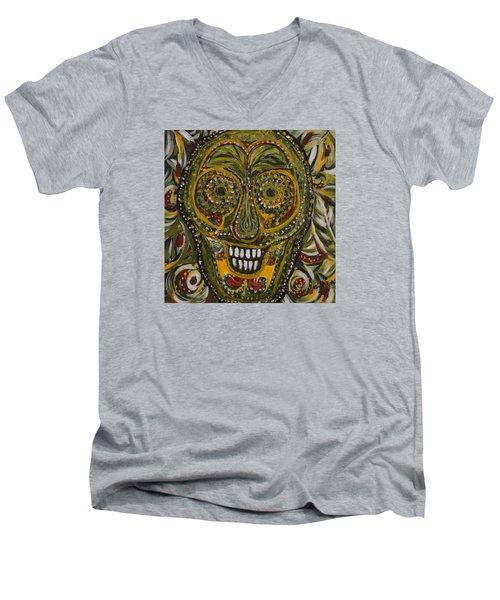 Spirit Of The Jungle Men's V-Neck T-Shirt