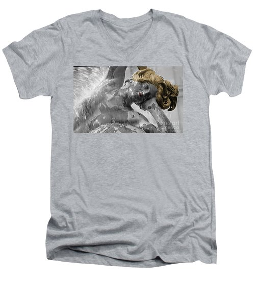 Men's V-Neck T-Shirt featuring the photograph Spirit Of Water by Lyric Lucas