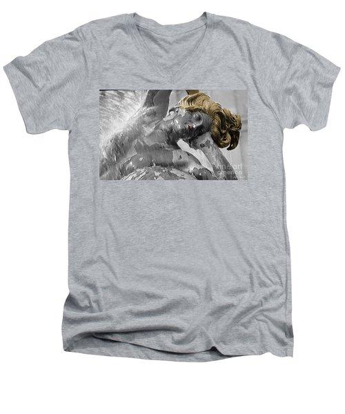 Spirit Of Water Men's V-Neck T-Shirt