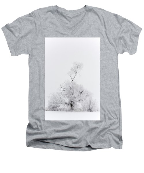 Men's V-Neck T-Shirt featuring the photograph Spirit Tree by Dustin LeFevre