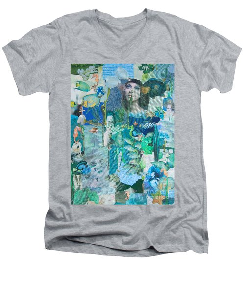 Spirits Of The Sea Men's V-Neck T-Shirt
