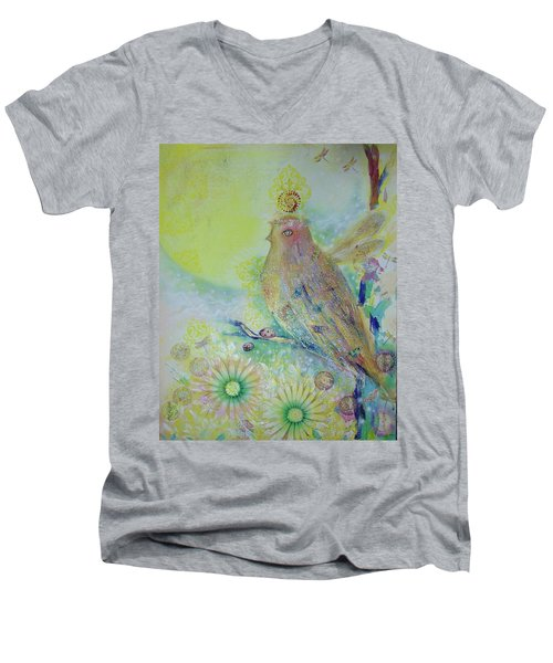 Spiritual Awakening  Men's V-Neck T-Shirt