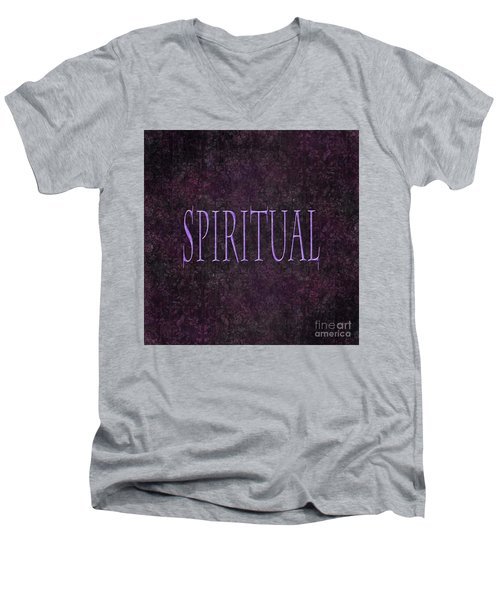 Spiritual Men's V-Neck T-Shirt