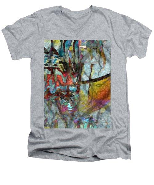 Men's V-Neck T-Shirt featuring the photograph Spirit Quest by Kathie Chicoine