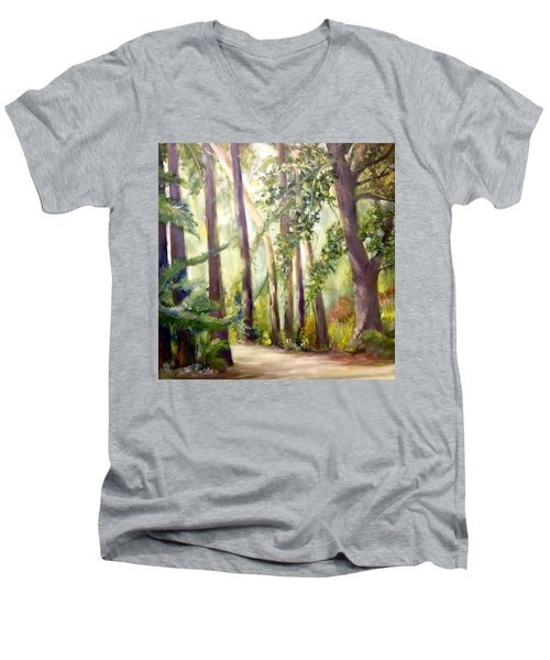 Spirt Of The Green Trees Men's V-Neck T-Shirt