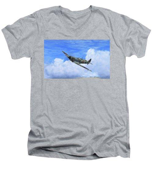 Spitfire Airborne Men's V-Neck T-Shirt