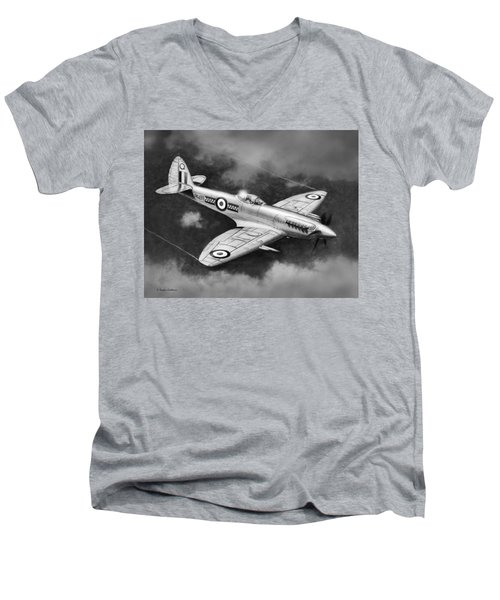 Spitfire Mark 22 Men's V-Neck T-Shirt
